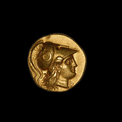 Ancient Greek Gold Stater Coin of King Alexander the Great