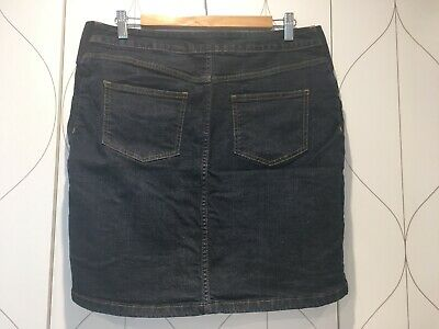 Next Maternity Denim Skirt Blue Under The Bump Size Uk 12 Eur 40