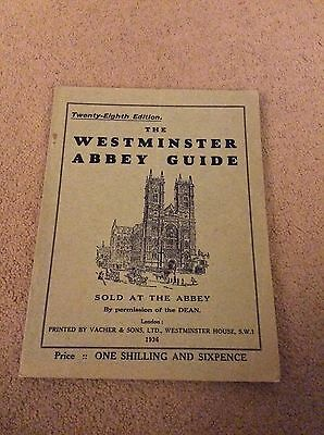 The Wesminster Abbey Guide 1936