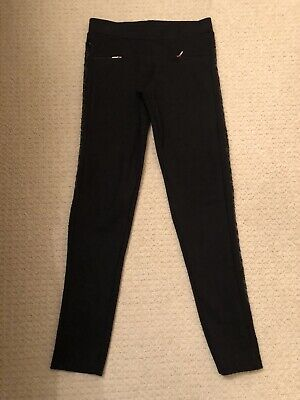 Girls Black Baker By Ted Baker Trousers Age 12-13 Years