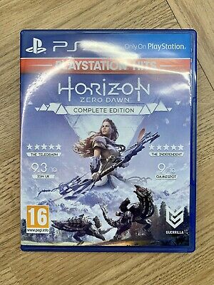 Horizon Zero Dawn Complete Edition PlayStation Hits PS4 Game Excellent Condition