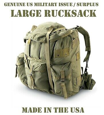 Us Military Large Alice Rucksack Main Pack Backpack Ruck Complete Lc1 Lc2 Od Grn