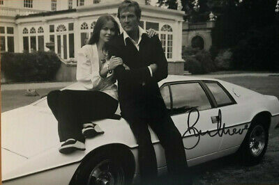 Roger Moore - Bond - signed autographed PHOTO 12X8 WITH COA