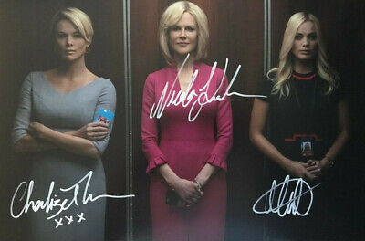 Kidman, Robbie, Theron - Bombshell - signed autographed PHOTO 12X8 WITH COA