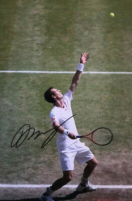 Andy Murray  - Tennis - signed autographed PHOTO 12X8 WITH COA