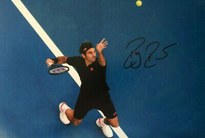 Roger Federer- Tennis - signed autographed PHOTO 12X8 WITH COA