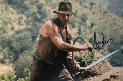 Harrison Ford - Indiana Jones - signed autographed PHOTO 12X8 WITH COA