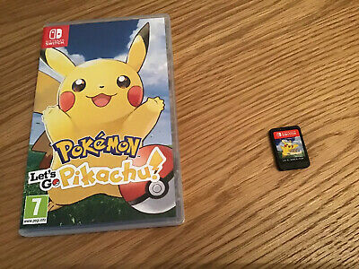 Pokemon Lets Go Pikachu - Nintendo Switch.