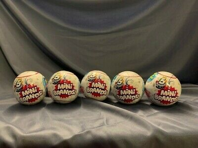 5 Surprise Mini Brands (Zuru) - 1 New/Sealed Ball-Free and Fast Shipping!