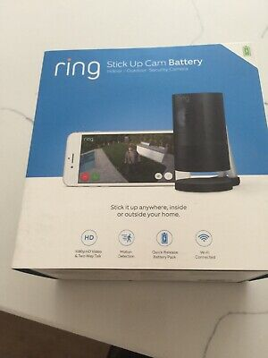 NEW Ring Stick Up Cam Battery (indoor/outdoor security camera)