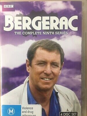 BERGERAC - Series 9 3 x DVD BBC AS NEW! Complete Ninth Season Nine