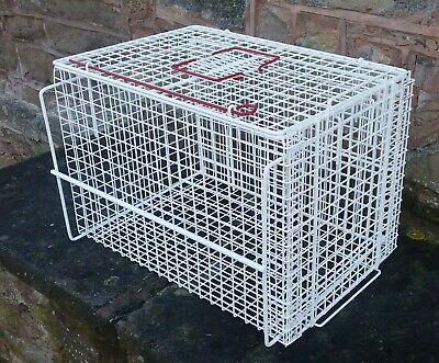 Restraining Crush Basket Extra Large Cat Carrier Top End Loading Hygienic Manufa