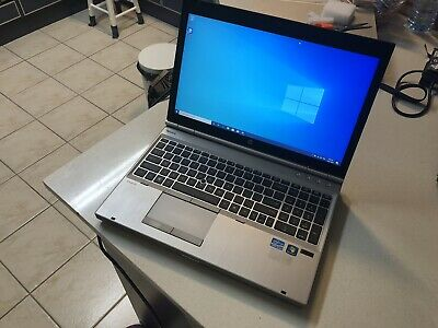 "HP Elitebook 8560p i5-2540m 2.67Ghz 4GB 160GB HDD 15.6"" Win 10 Pro Laptop"