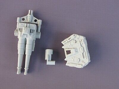 Bottom Gun and base Base  - 2008 Hasbro Legacy Star Wars Millennium Falcon