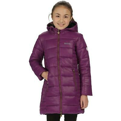 Regatta Kids Berry Hill Puffer Jacket Boys Girls Hooded Coat
