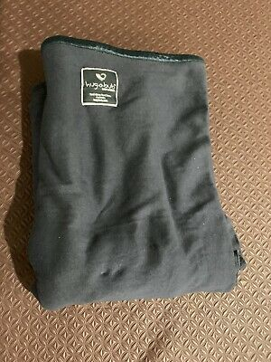 Hug-A-Bub Baby Wrap Dark Grey - Great condition