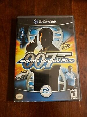007 Agent Under Fire Complete in Box Nintendo Gamecube