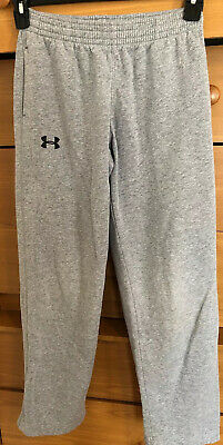 Boys Youth Large Loose Fit Under Armour YLG Cotton Sweatpants Drawstring Pants