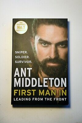 Ant Middleton First Man In - Leading from the Front - Paperback