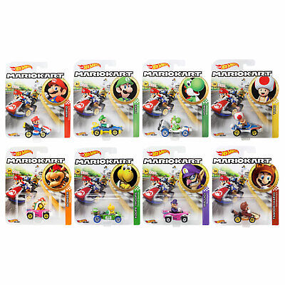 Hot Wheels Mario Kart 1:64 Scale Die-Cast Cars *CHOOSE YOUR FAVOURITE*