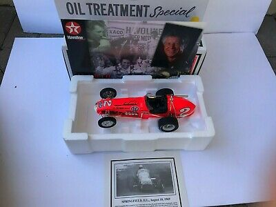 Mario Andretti, 1:18 ,Hand Signed, Gmp Stp Oil Treatment Special #2, Dirt Champ,