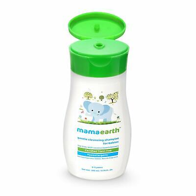 Mamaearth Gentle Cleansing Shampoo For Babies 200 Ml & Hair Oil 100 Ml Combo