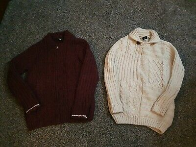2 X Boys River Island Jumpers Age 9-10 Excellent Condition