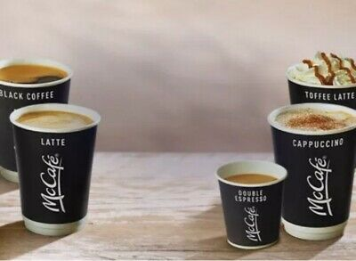 720 Mcdonalds Coffee / Hot Drinks Loyalty Stickers Exp 31-12-2020