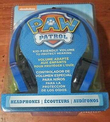 PAW PATROL MARSHALL KID HEADPHONES with Built in Volume Limiting Feature NEW
