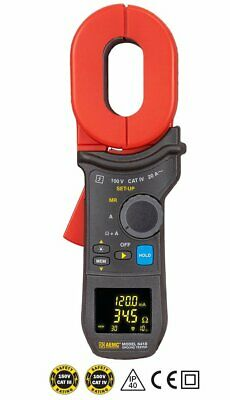 AEMC 6418 (2141.03) Clamp-On Ground Resistance Tester with NIST Cal Cert