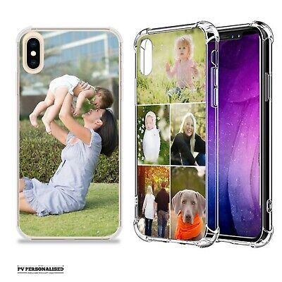 Personalised Your Photo Collage Shockproof Case Cover For Iphone 6 7 8 X Xr 11