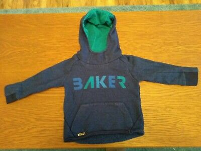 Boys Blue Ted Baker Hoody - 12-18 Months