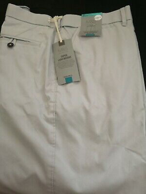 Marks & Spencer Super Light Regular Fit Chinos,BNWT, White Mix Color RRP£39