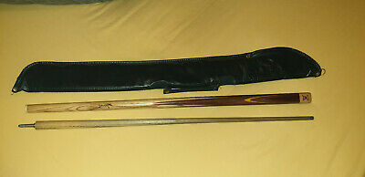 Riley 2-piece Snooker Cue - Jimmy White endorsed - 56.5 inches long - with case