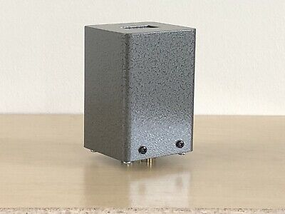 1PC 80*40 Round Black Iron Transformer cover can enclosure FR Vintage Tube Amps