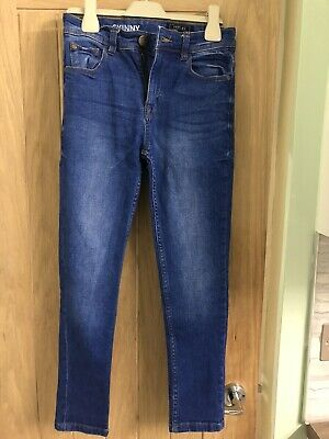 Boys NEXT Skinny Jeans Age 8 Mid Blue Used Excellent Condition