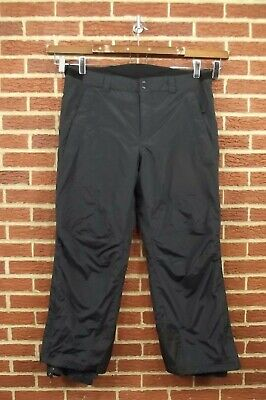 L.L. Bean Mens Insulated Snow Pants XL X-Large Black Ski Winter Snowboard 40 38