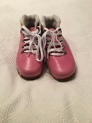 Girls Pink Boots Size 11 Worn Once