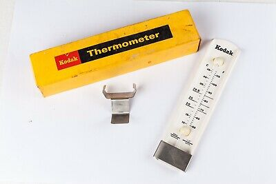 Kodak Darkroom Thermometer.   Vintage, Boxed With Dish Clip