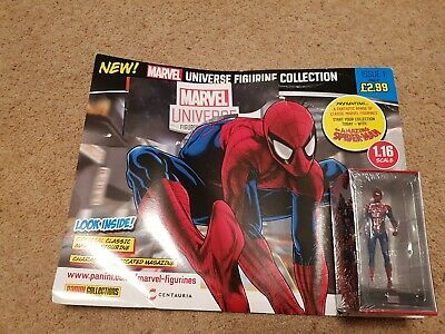 Panini Marvel Universe Figurine Collection Issue 1 Spider-Man