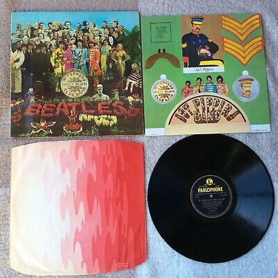 BEATLES - Sgt Peppers Lonely HCB Stereo First Pressing Complete & Play Tested