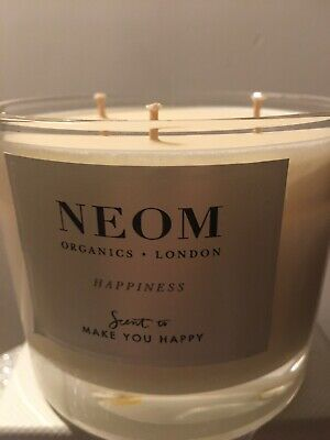 Neom Organics London Tranquility Scent To Sleep 420 g 3 wick scented candle bnib