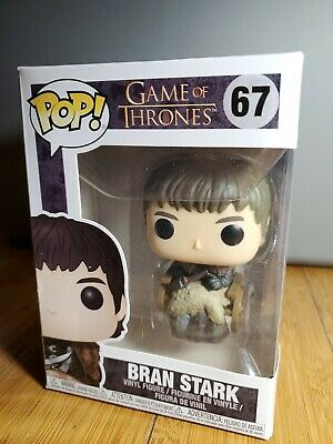 Funko Pop! Game of Thrones - Bran Stark in Wheelchair #67 Vinyl Figure 1C