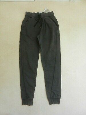 BNWT Next Boys Lightweight Jogging Pants Bottoms Trousers Distressed Black Age 9