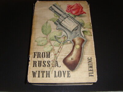 FROM RUSSIA WITH LOVE - Ian Fleming 1st Edition 1st/1st First Edition James Bond