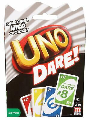 UNO Dare - Card Game Familiar UNO game play with a twist Includes UNO Dare rules