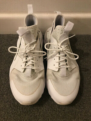 Nike Air Huarache Run White Mens Trainers Size UK 8 / EUR 42.5