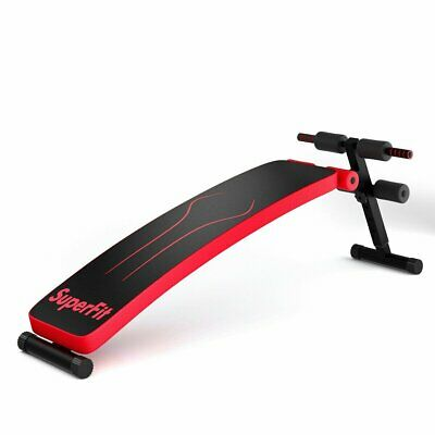 Folding Weight Bench Adjustable Sit-up Board Workout Slant Bench SP37043 WC