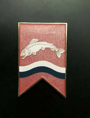 GoT Game Of Thrones Tully Sigil Pearl Banner Fantasy Pin Edmure Stark Dany LE40