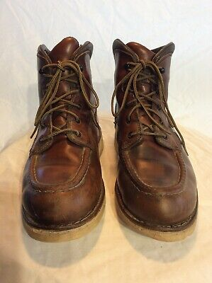 VTG Mens 9 RED WING 405 EH Work Boots Shoes Waterproof Heat Resistant Traction